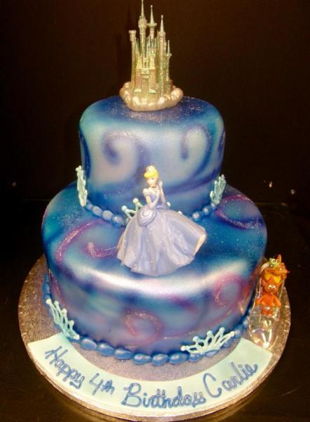 Get a princess themed cake for your little princess!